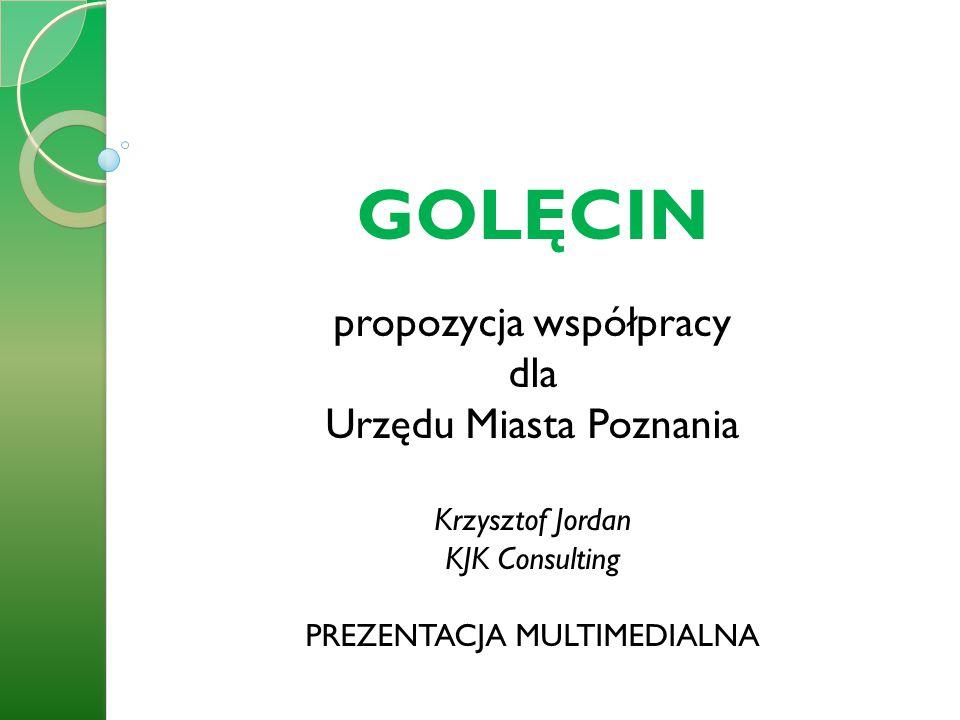GOLĘCIN propozycja współpracy dla Urzędu Miasta Poznania