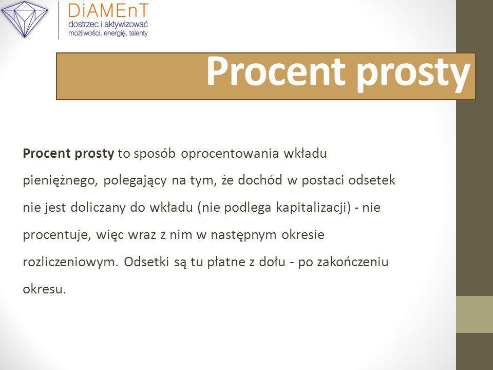 Procent prosty