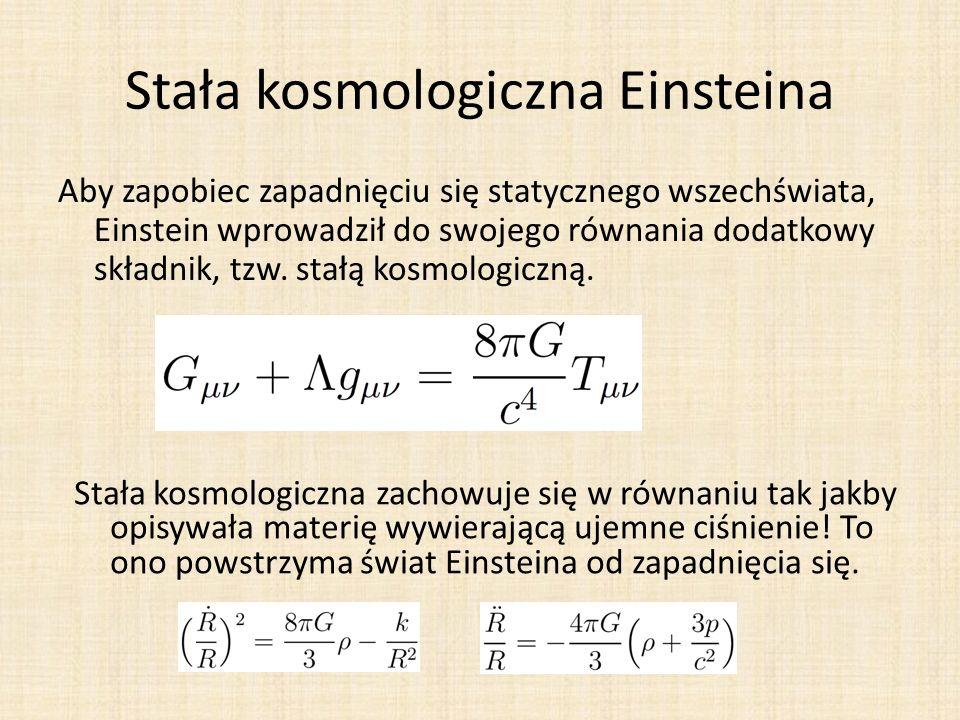 Stała kosmologiczna Einsteina