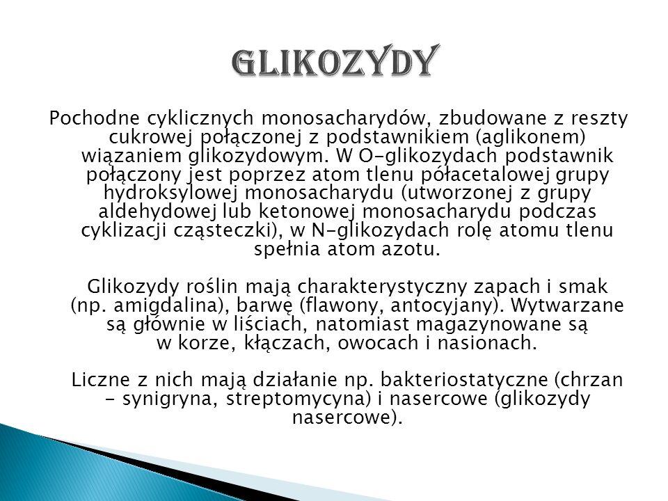 Glikozydy
