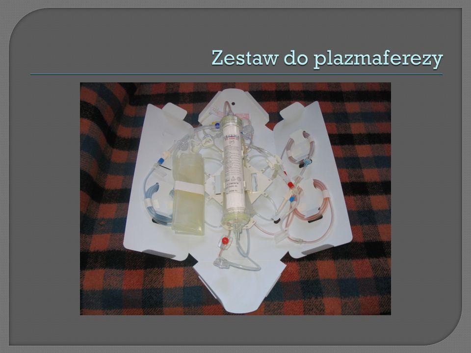 Zestaw do plazmaferezy