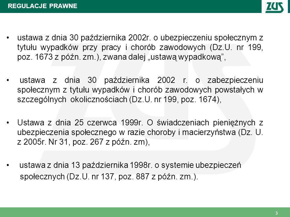 ustawa z dnia 13 października 1998r. o systemie ubezpieczeń