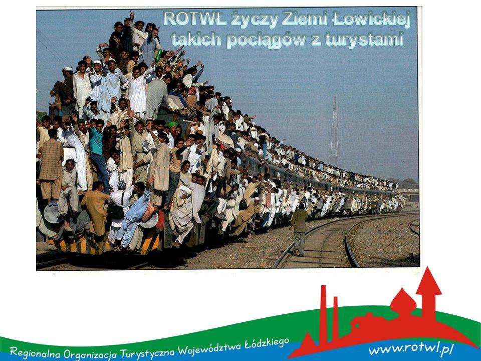 ROTWŁ życzy Ziemi Łowickiej takich pociągów z turystami