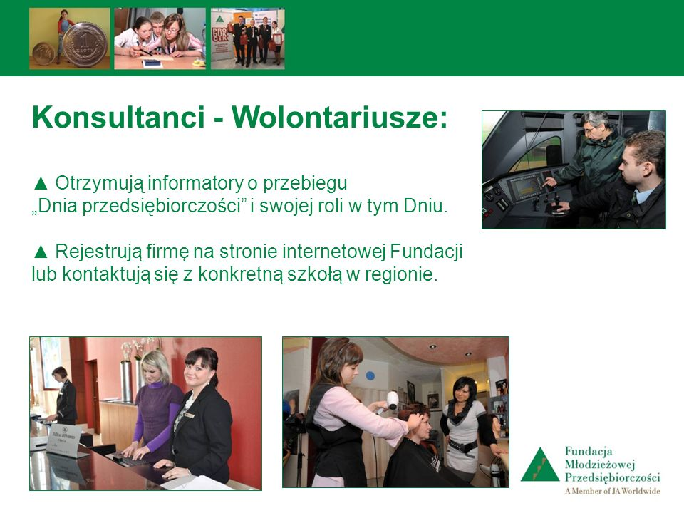Konsultanci - Wolontariusze: