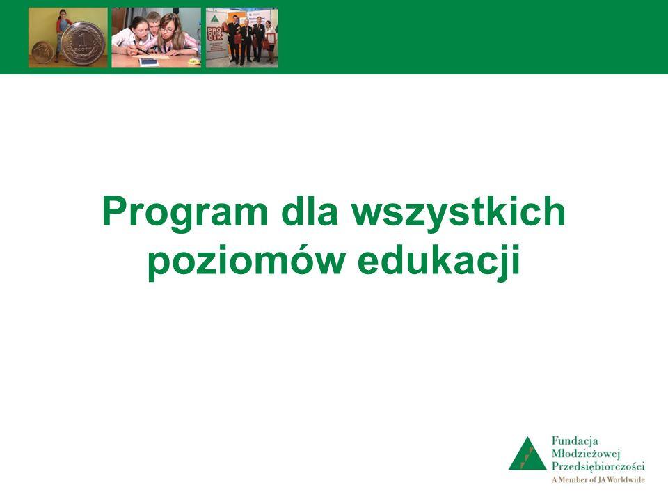 Program dla wszystkich poziomów edukacji
