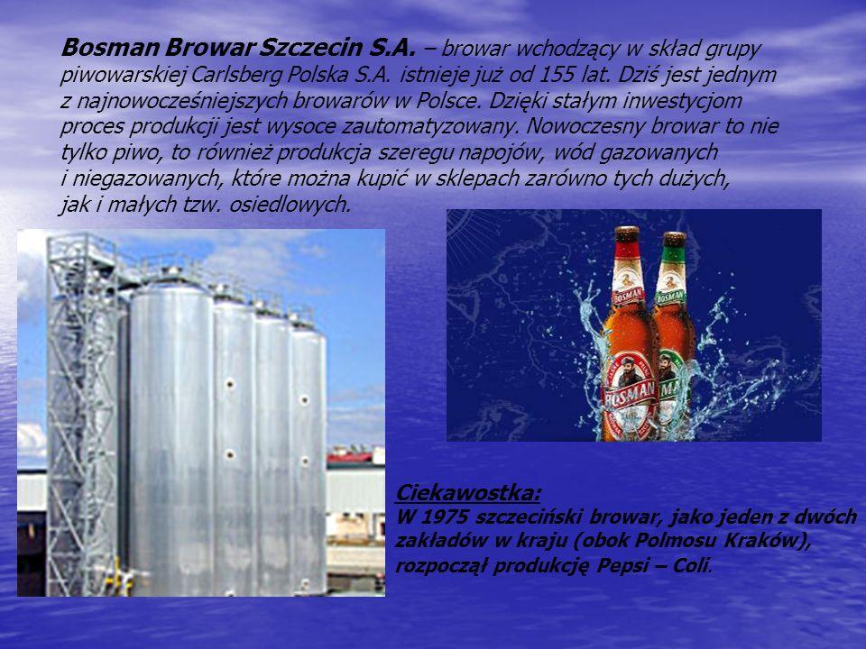 Bosman Browar Szczecin S. A