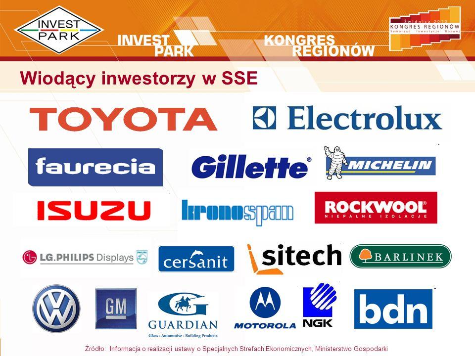 Wiodący inwestorzy w SSE