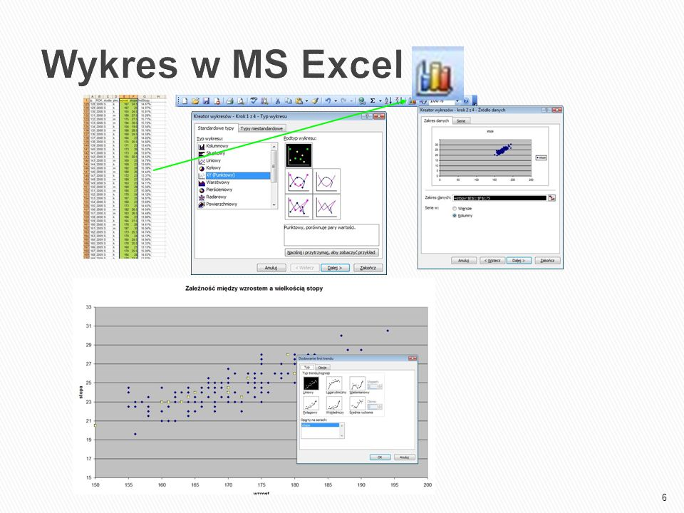Wykres w MS Excel