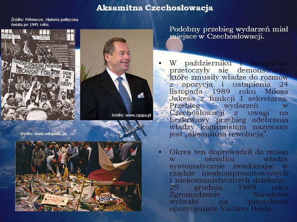 Aksamitna Czechosłowacja