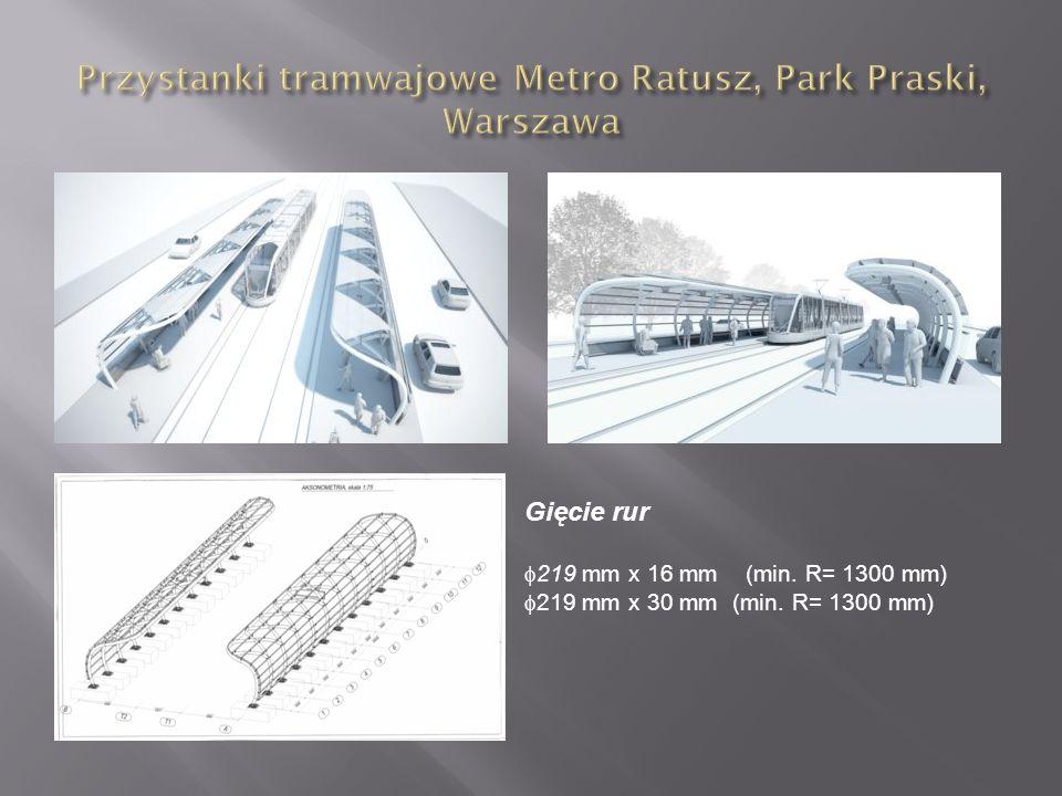Przystanki tramwajowe Metro Ratusz, Park Praski, Warszawa