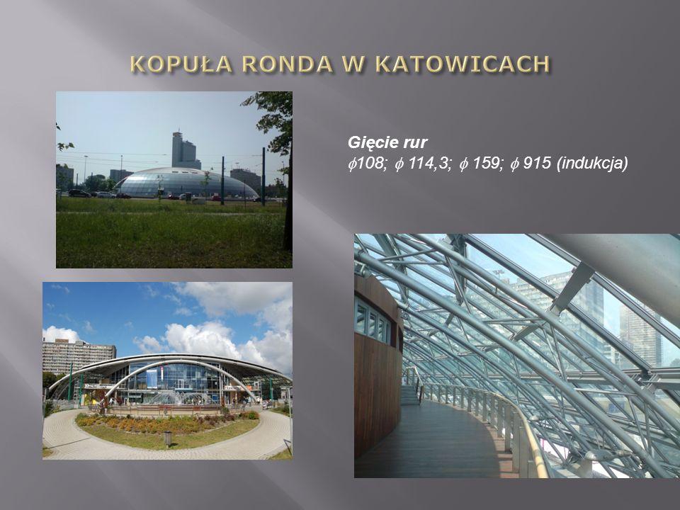 KOPUŁA RONDA W KATOWICACH