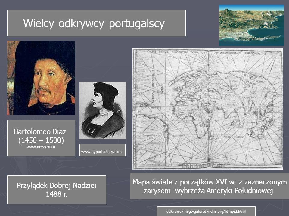 Wielcy odkrywcy portugalscy