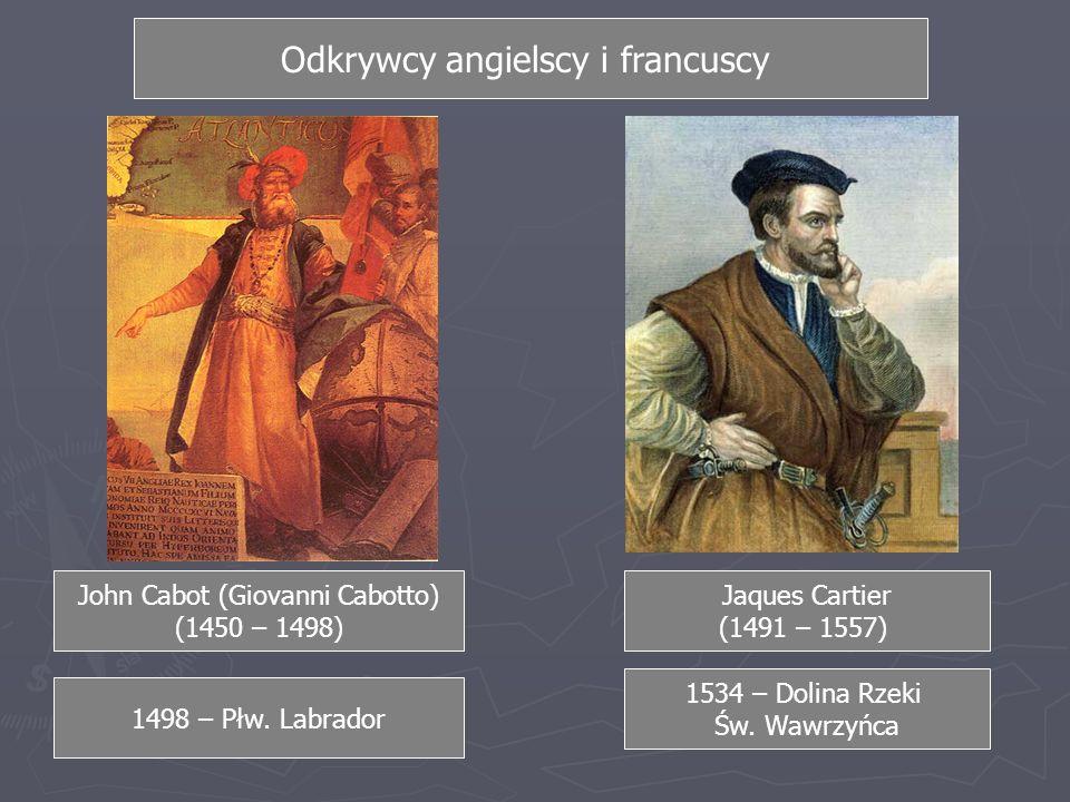 Odkrywcy angielscy i francuscy