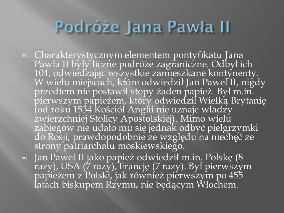 Podróże Jana Pawła II