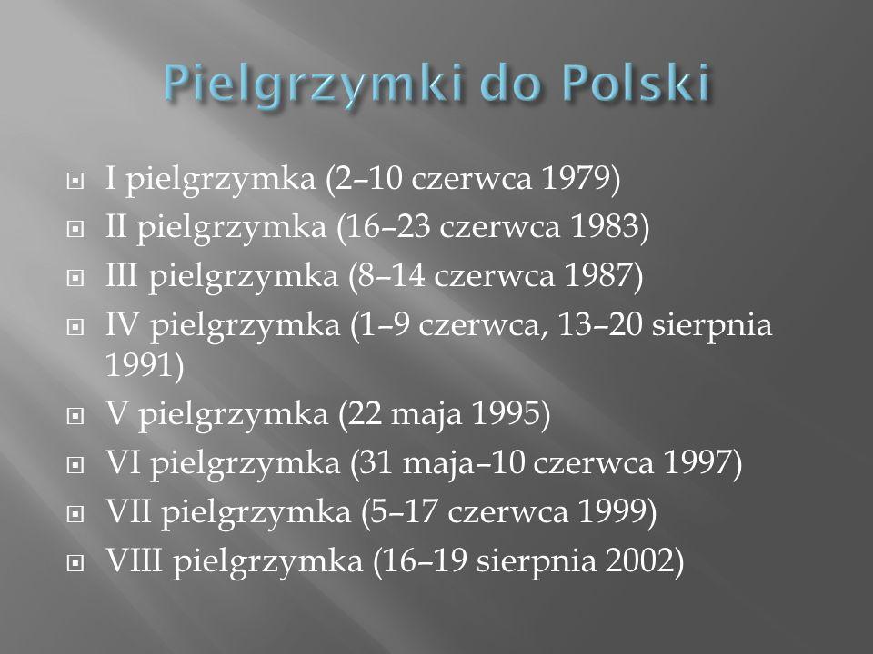 Pielgrzymki do Polski I pielgrzymka (2–10 czerwca 1979)