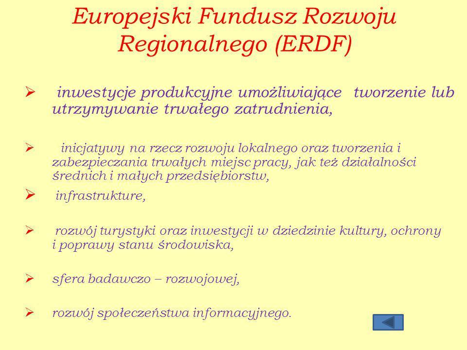 Europejski Fundusz Rozwoju Regionalnego (ERDF)