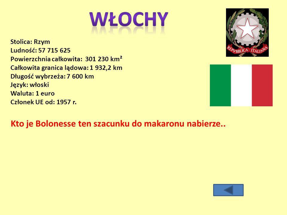 WŁOCHY Kto je Bolonesse ten szacunku do makaronu nabierze..