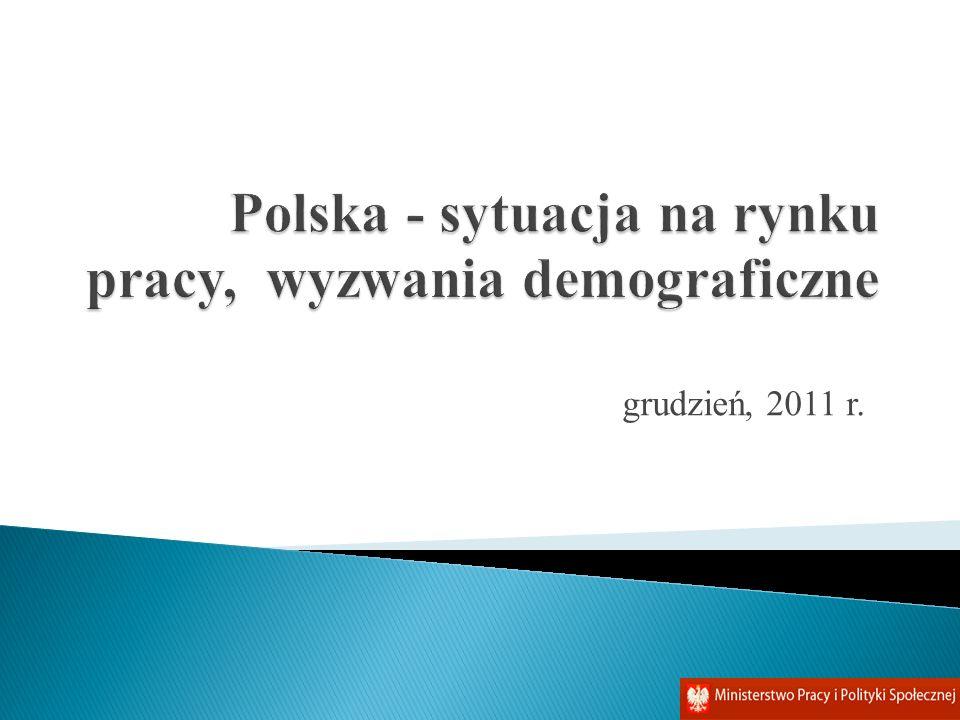 Polska - sytuacja na rynku pracy, wyzwania demograficzne