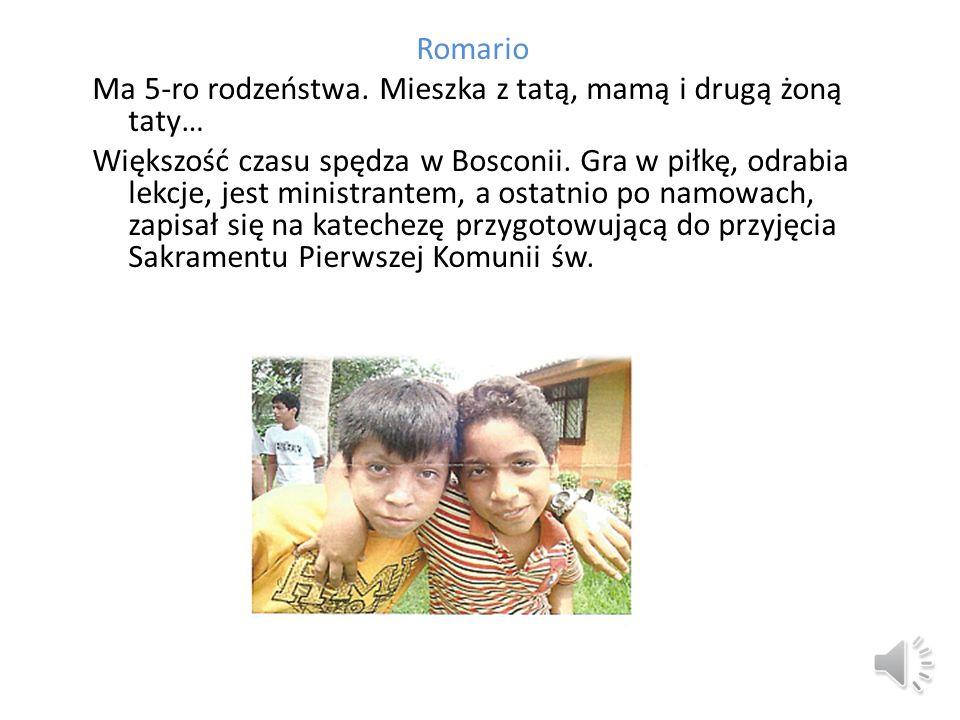 Romario Ma 5-ro rodzeństwa