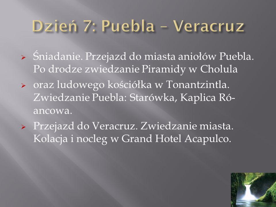 Dzień 7: Puebla – Veracruz