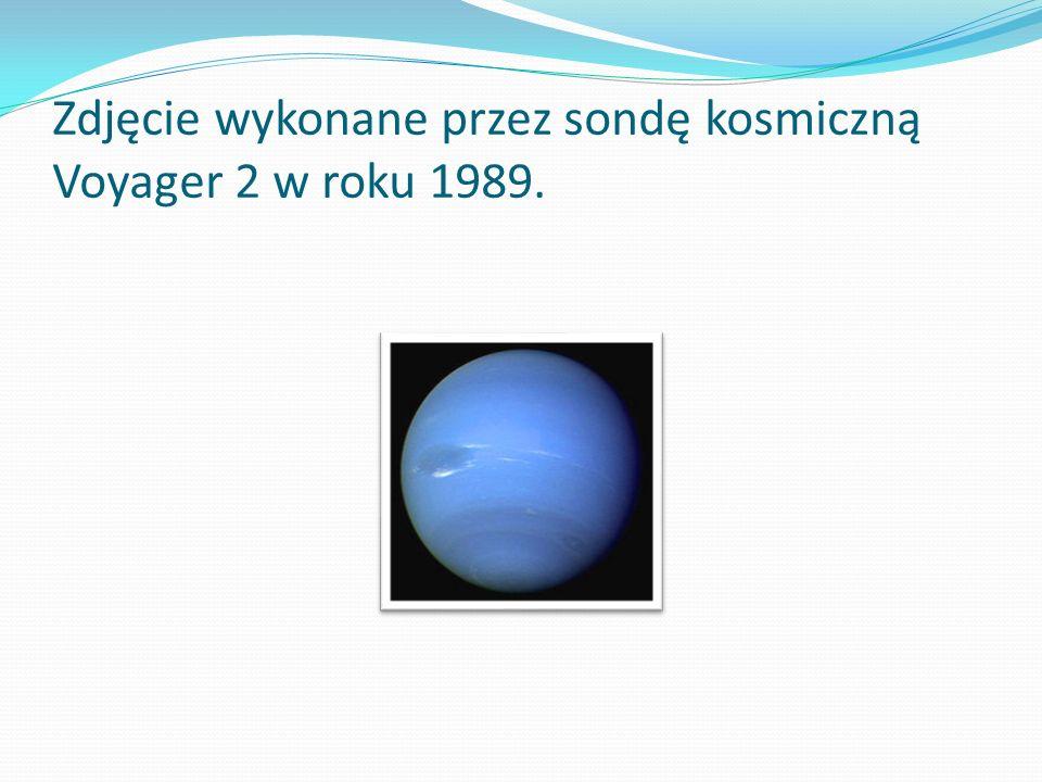Zdjęcie wykonane przez sondę kosmiczną Voyager 2 w roku 1989.
