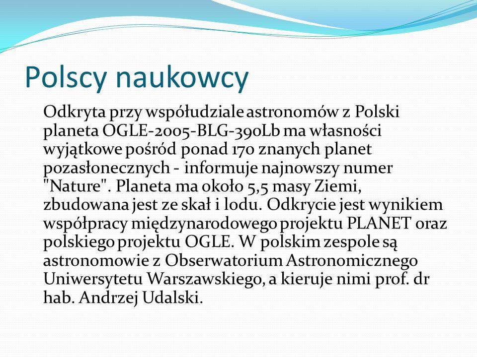 Polscy naukowcy