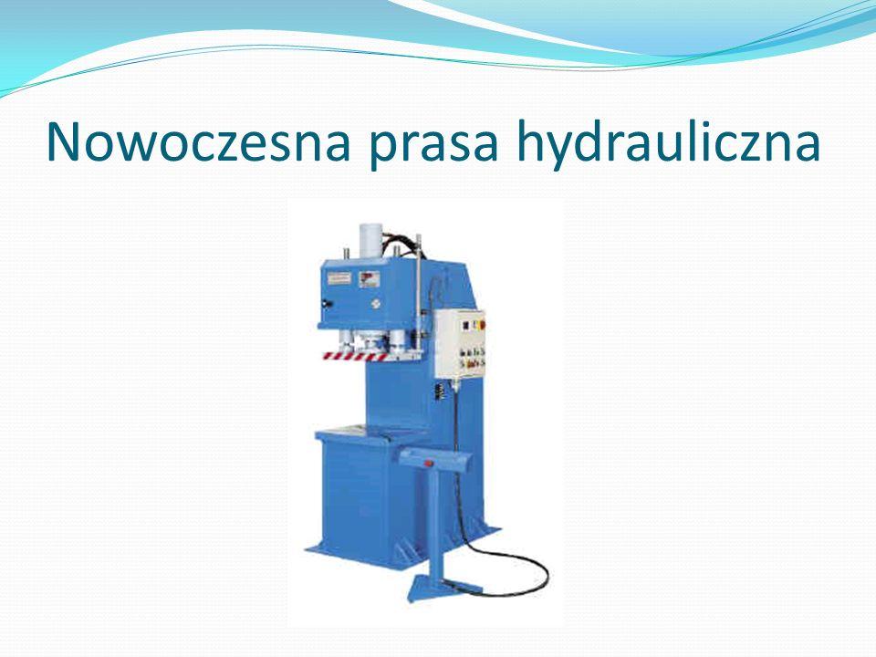 Nowoczesna prasa hydrauliczna