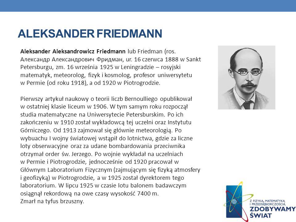 Aleksander Friedmann