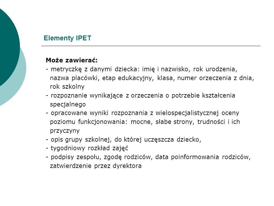 Elementy IPET