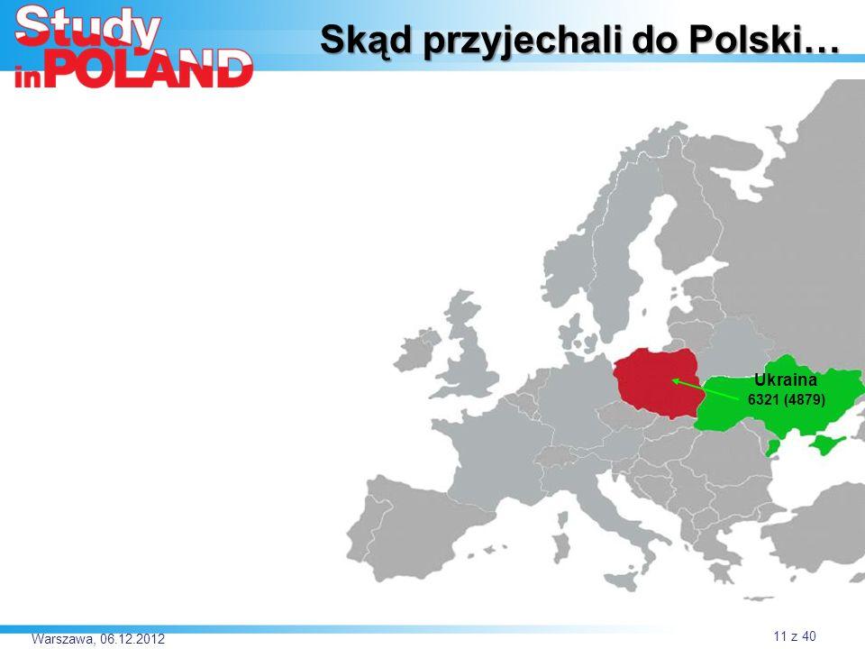 Skąd przyjechali do Polski…