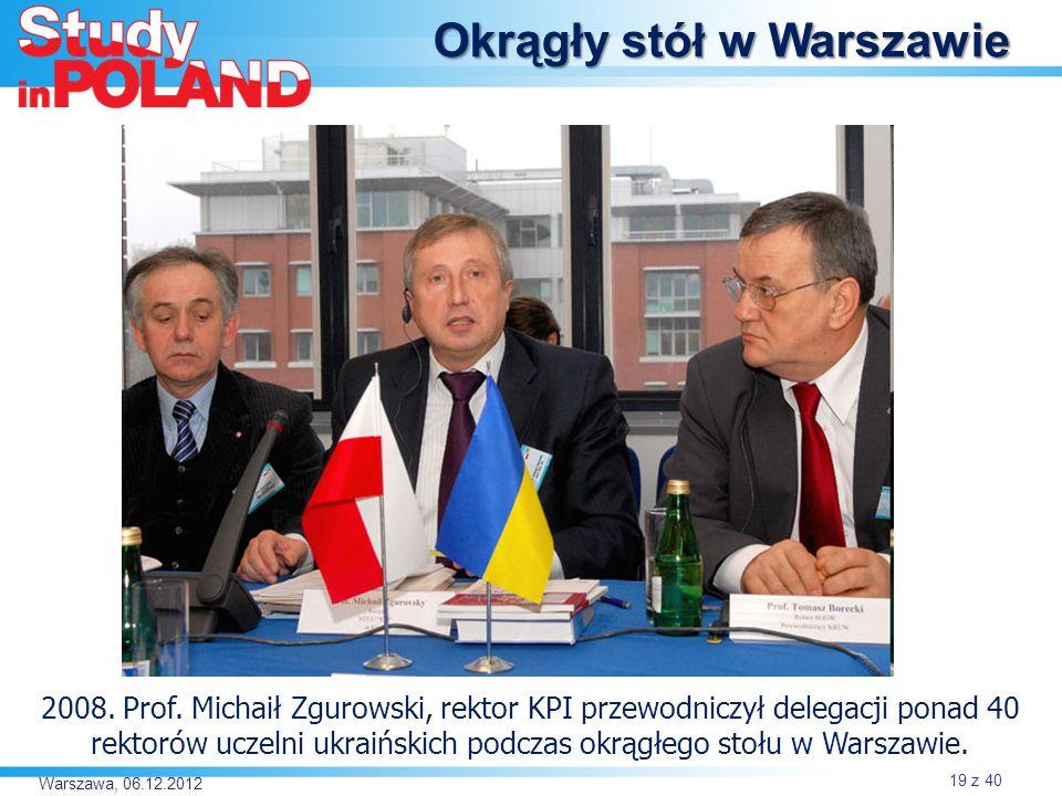Okrągły stół w Warszawie