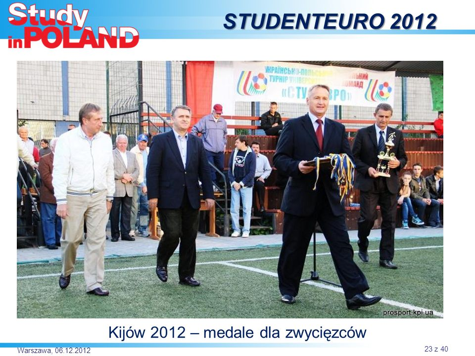 Kijów 2012 – medale dla zwycięzców