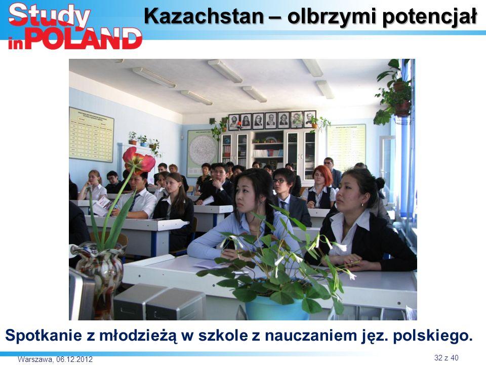 Kazachstan – olbrzymi potencjał