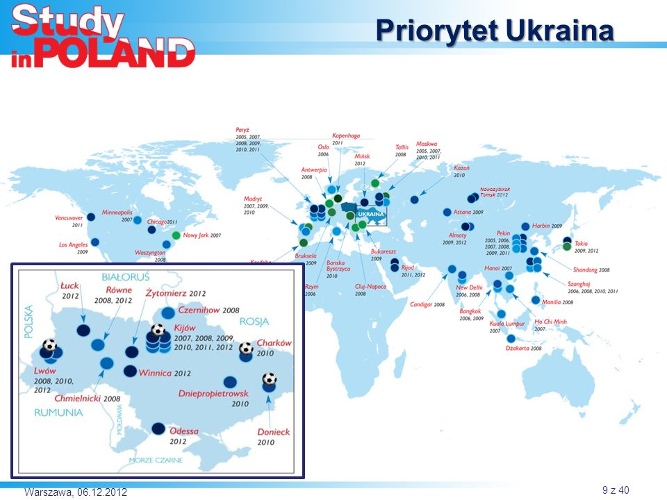 Priorytet Ukraina Nowosybirsk Tomsk 2012 Warszawa, 06.12.2012
