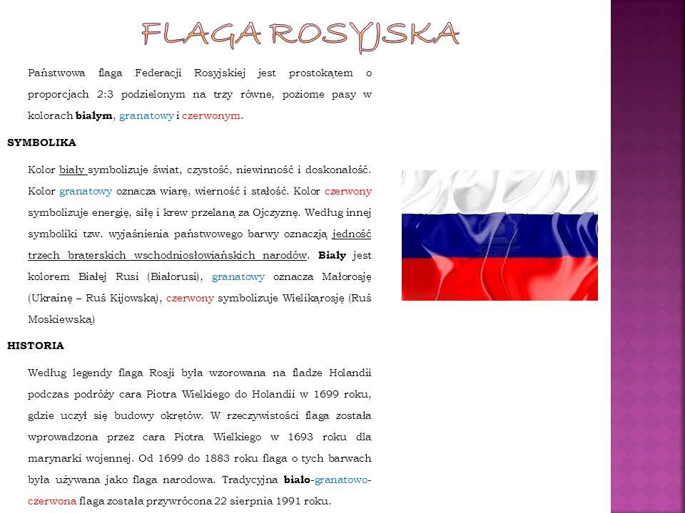 FLAga rosyjska