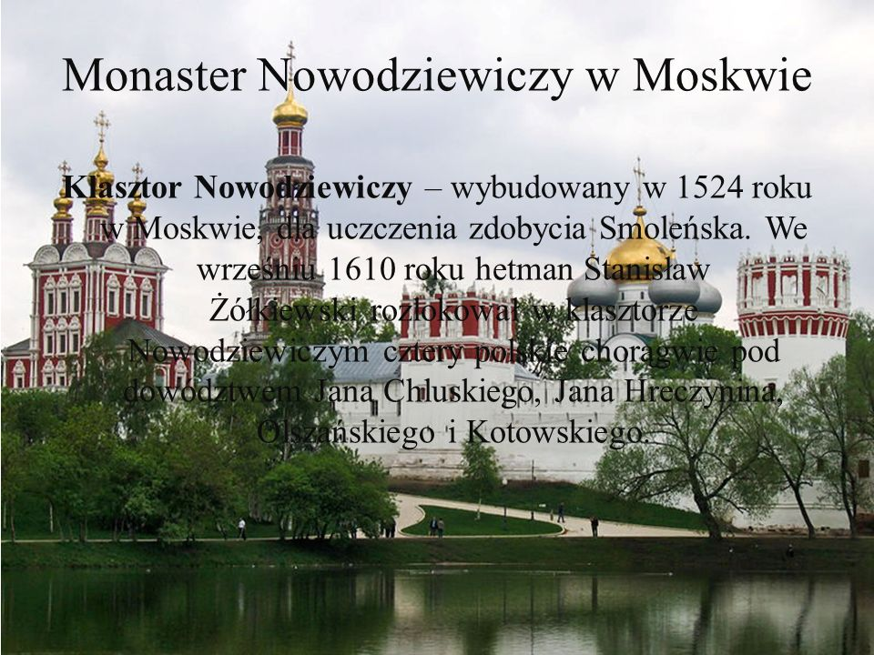 Monaster Nowodziewiczy w Moskwie