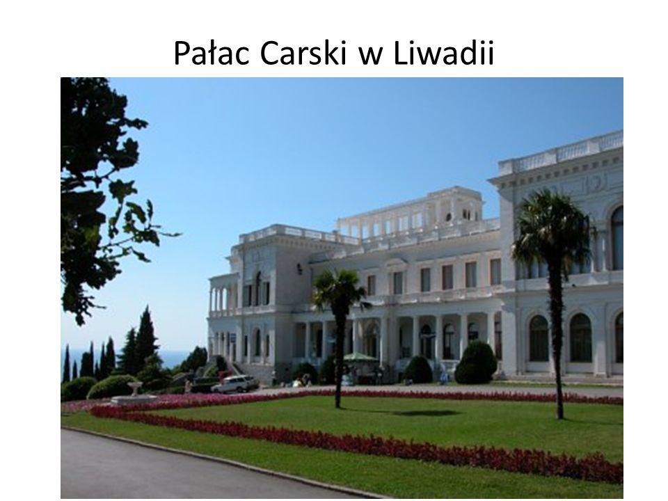 Pałac Carski w Liwadii