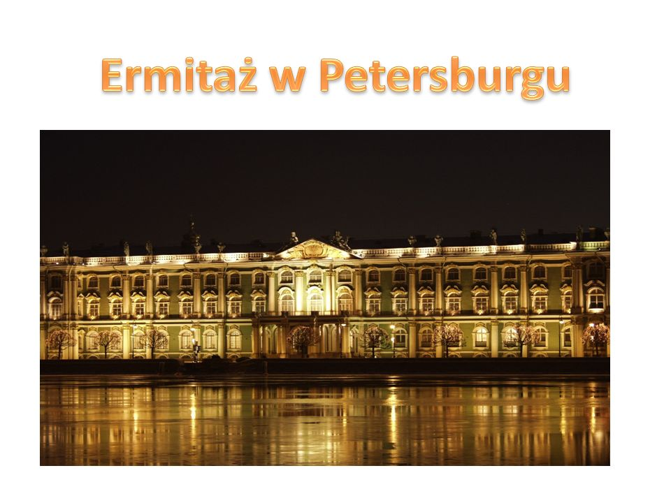 Ermitaż w Petersburgu
