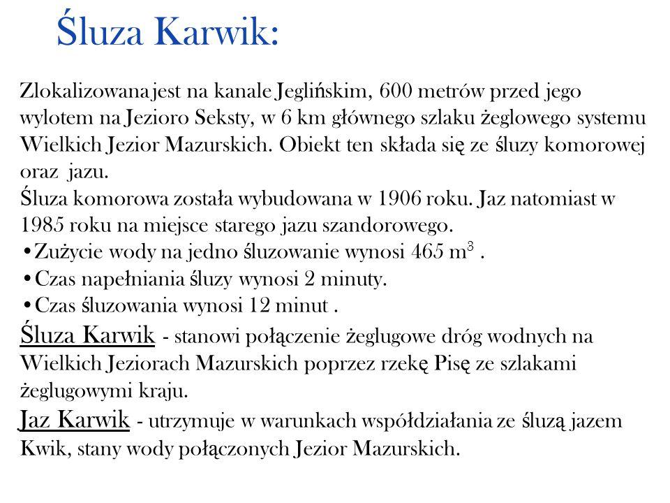 Śluza Karwik: