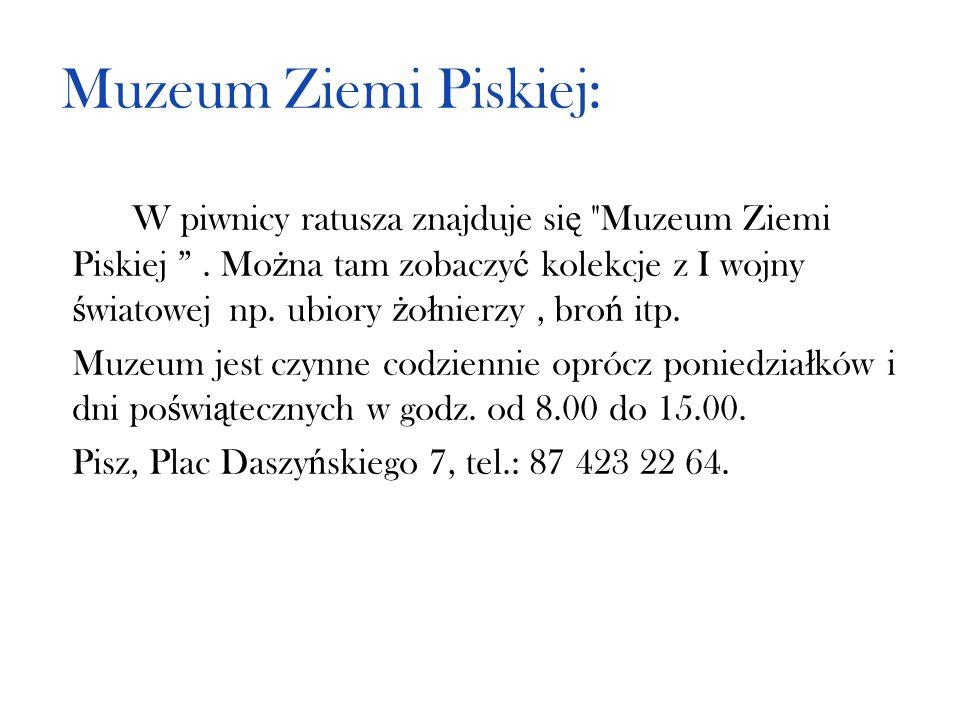 Muzeum Ziemi Piskiej:
