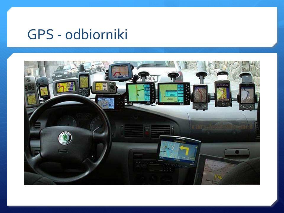 GPS - odbiorniki