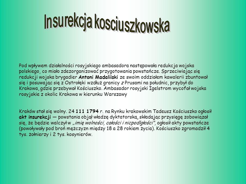 Insurekcja kosciuszkowska
