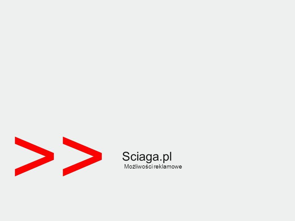 Sciaga.pl Możliwości reklamowe