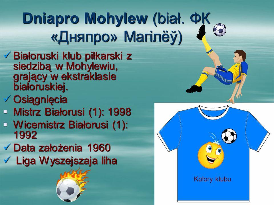 Dniapro Mohylew (biał. ФК «Дняпро» Магілёў)