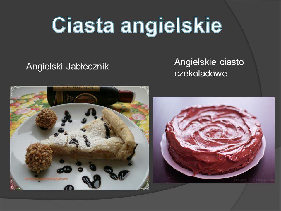 Ciasta angielskie Angielskie ciasto czekoladowe Angielski Jabłecznik