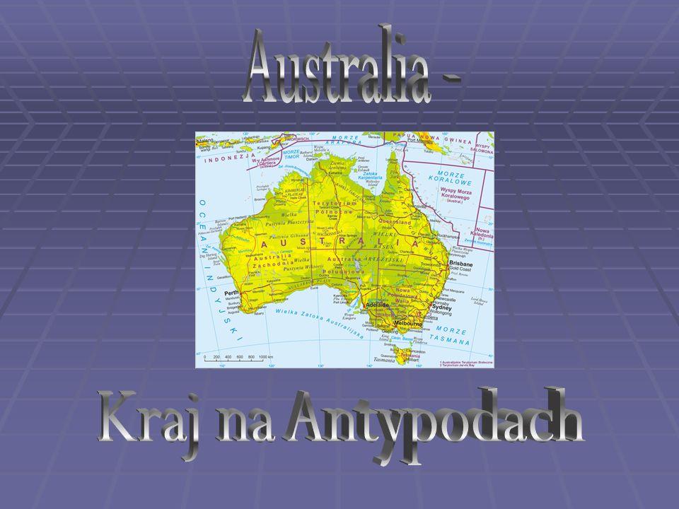Australia - Kraj na Antypodach