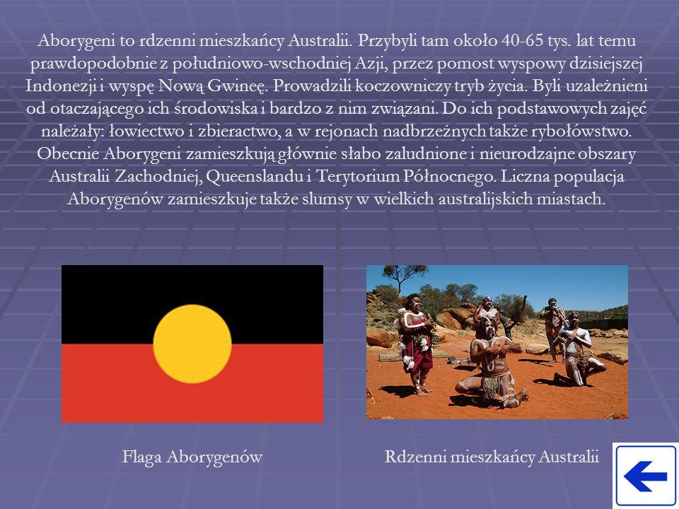 Rdzenni mieszkańcy Australii