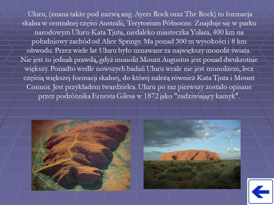 Uluru, (znana także pod nazwą ang