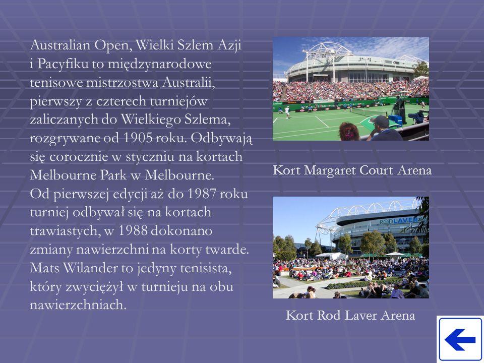 Kort Margaret Court Arena
