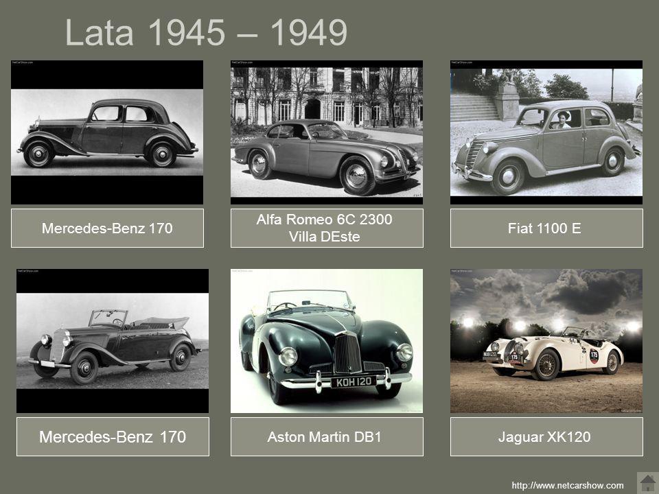 Lata 1945 – 1949 Mercedes-Benz 170 Mercedes-Benz 170